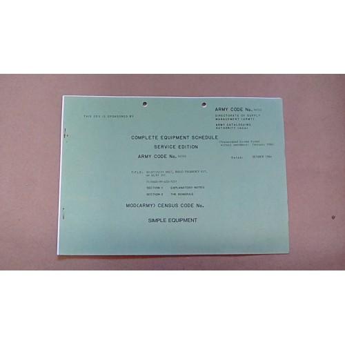 CES CATALOGUE SLECTIVITY UNIT 4W  44522